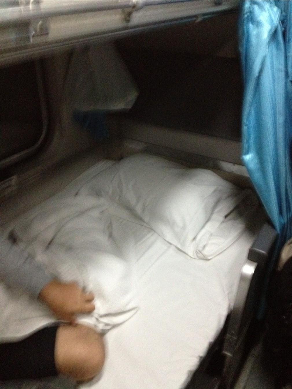 Zugfahrt von Chiang Mai nach Bangkok