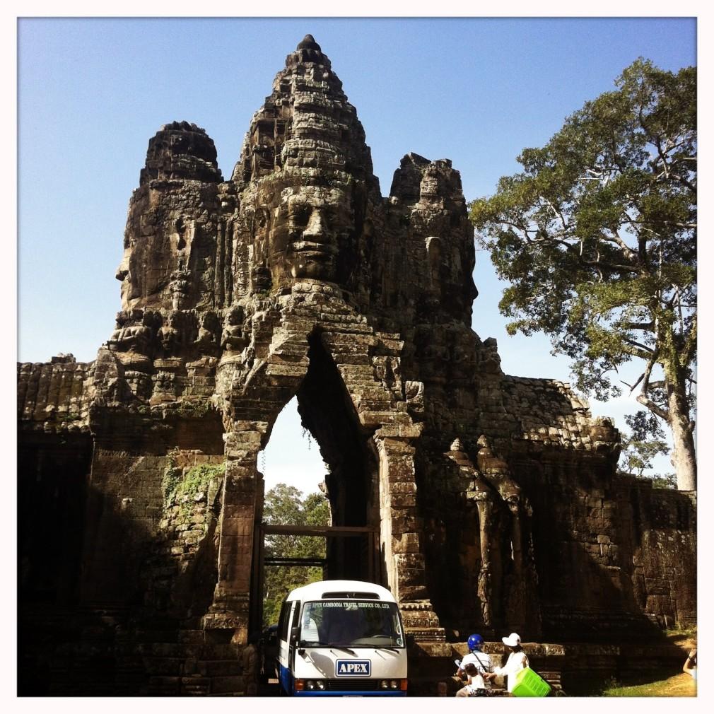 Angkor Wat: Angkor Thom Südtor