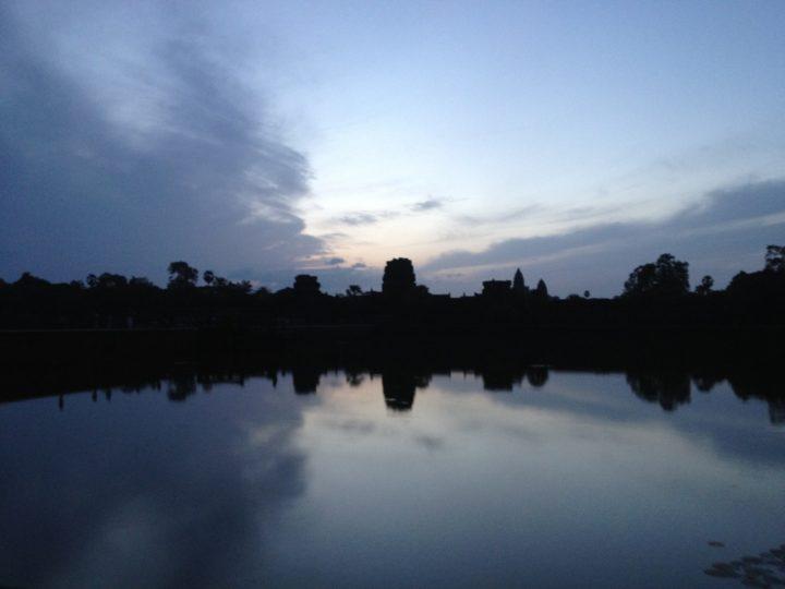 Angkor im Morgengrauen