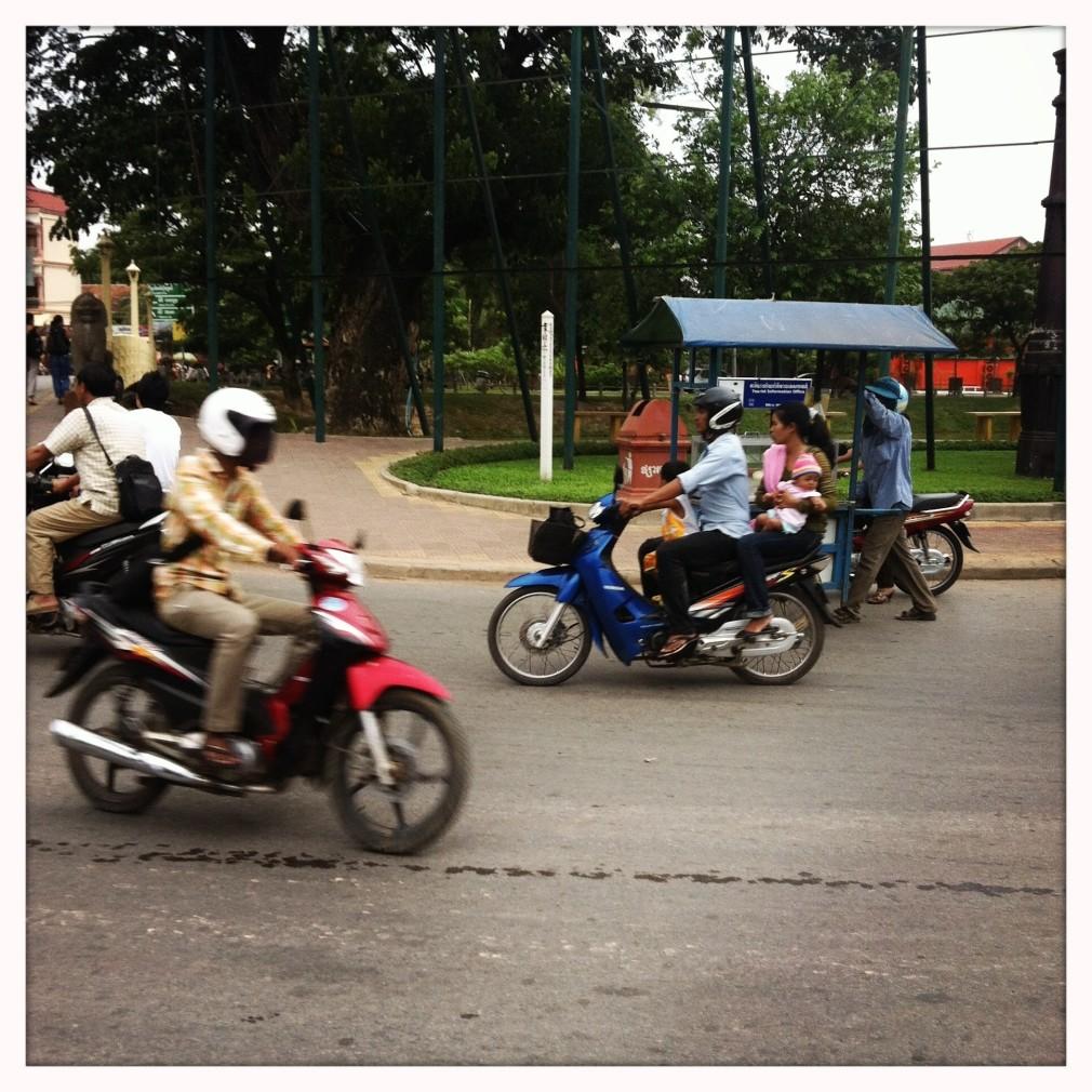 Transport und Verkehr in Siem Reap