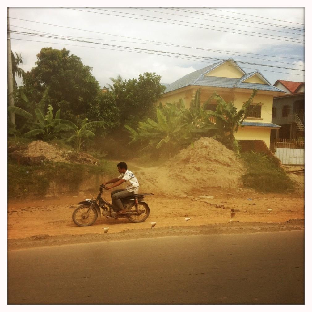 Mit dem Taxi von Siem Reap nach Phnom Penh