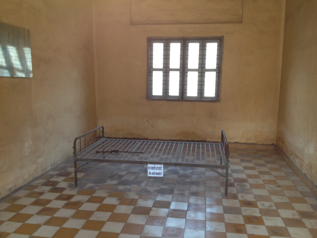 Genozid Museum Tuol Sleng in Phnom Penh