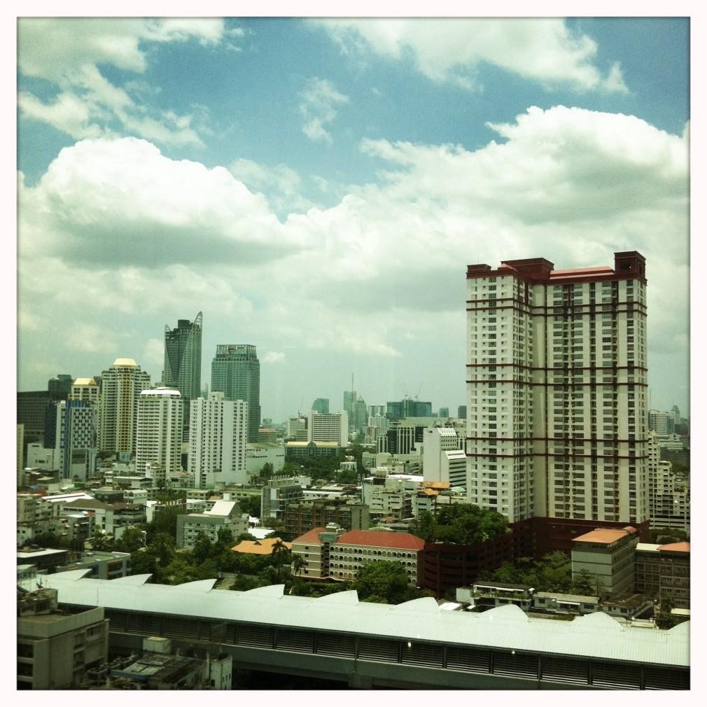 Bangkok Hochäuser