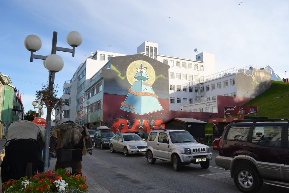 Ein wenig Streetart in Akureyri