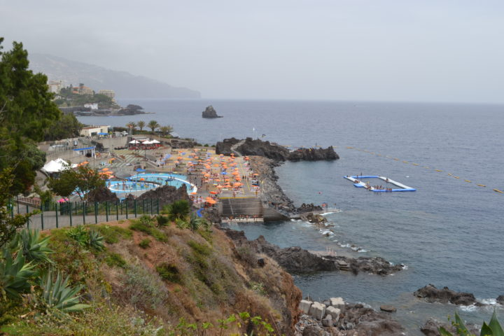Schwimmbad Ponta Gorda in Funchal, Madeira