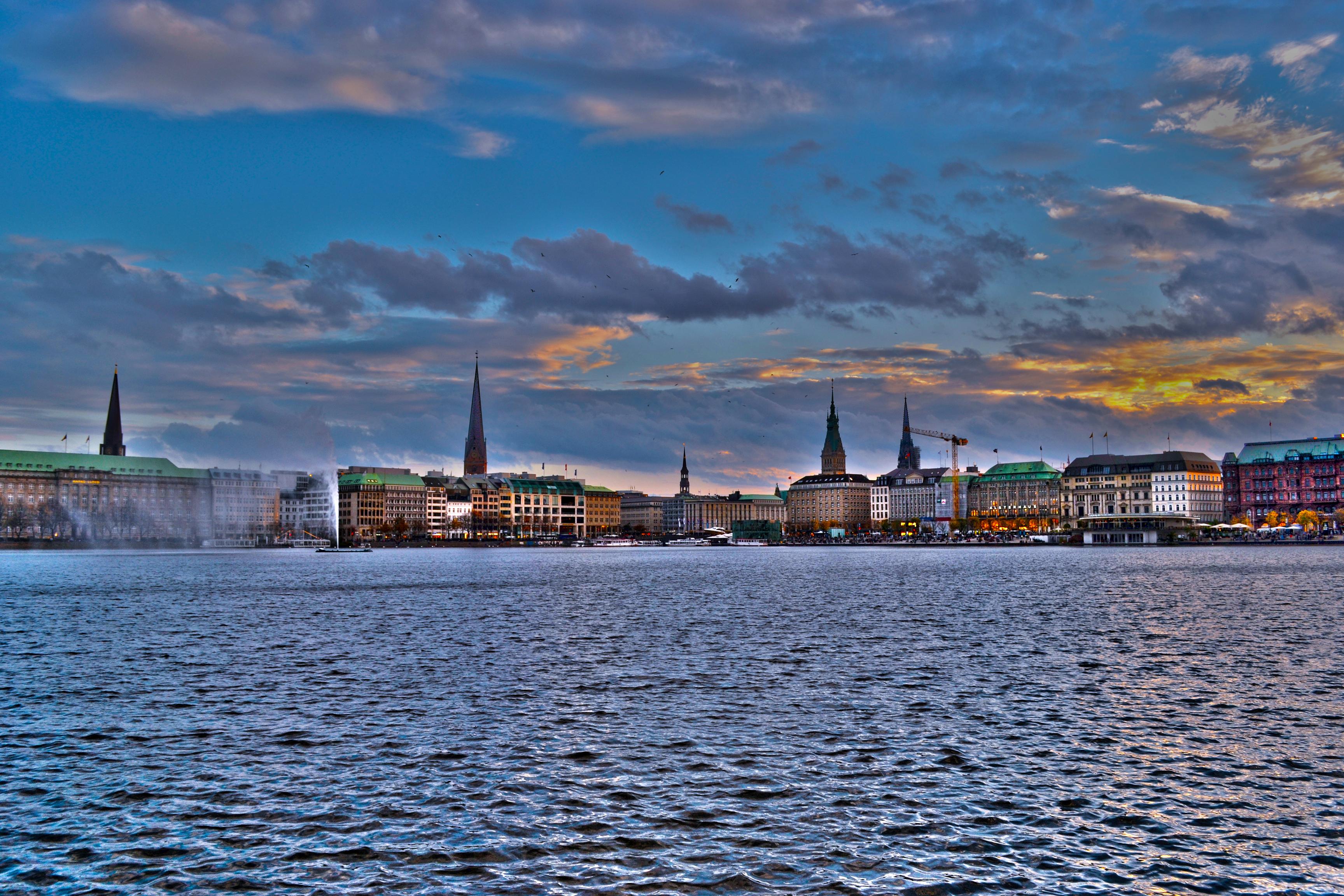 Hamburg: Binnenalster