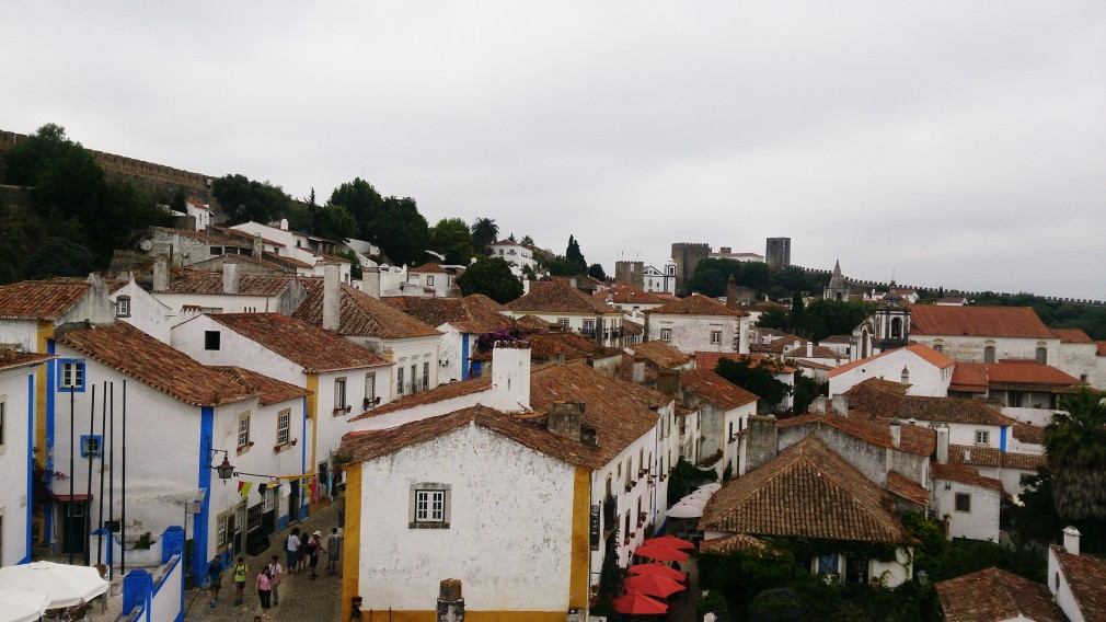 Blick auf Óbidos