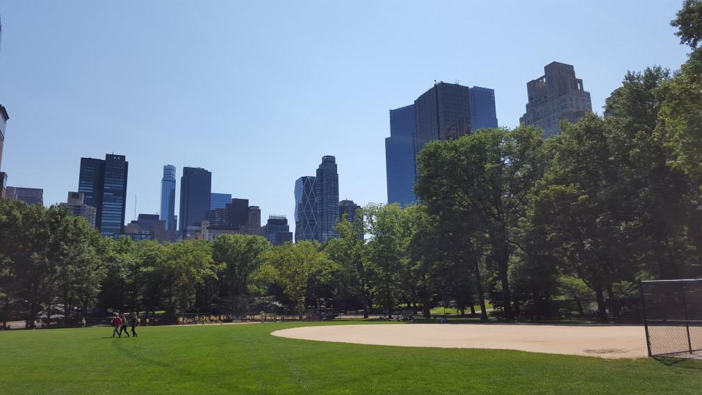 Blick auf Midtown