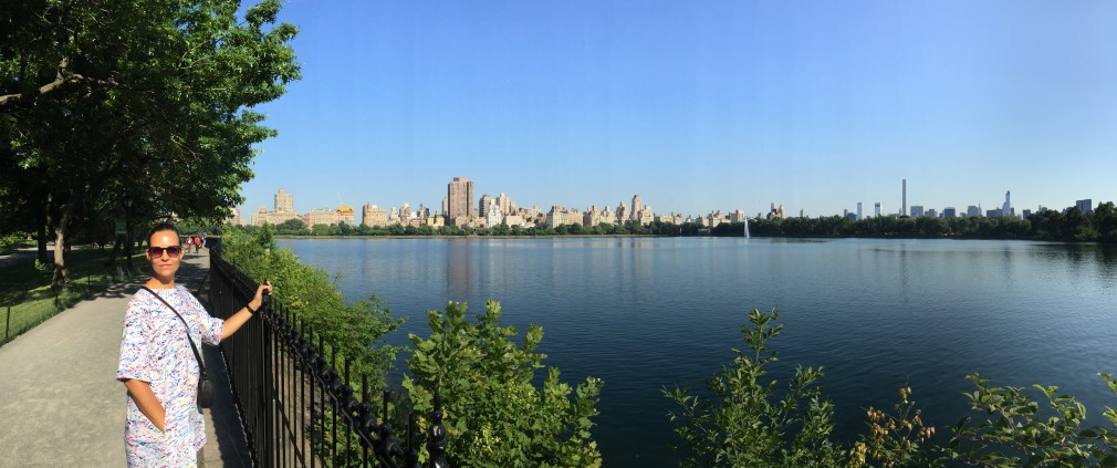 New York, Central Park: Jacqueline Kennedy Onassis Reservoir