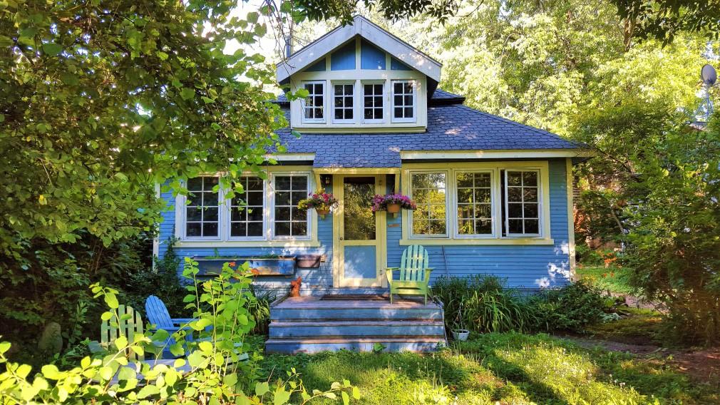 Haus auf / in dem Toronto Island Park