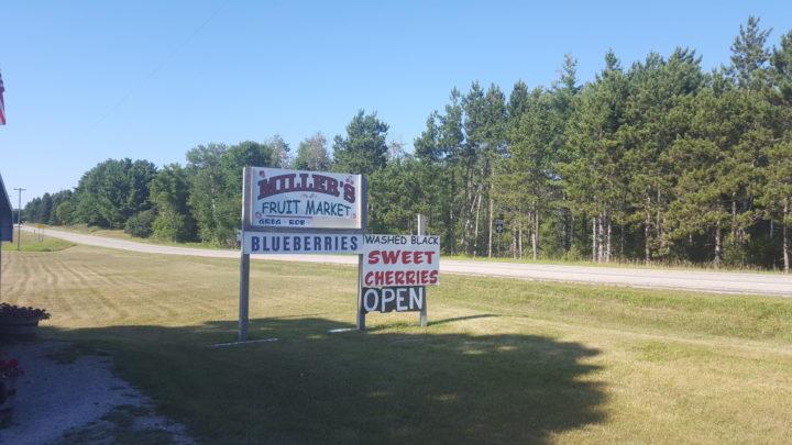 Obststand Lower Peninsula, Michigan