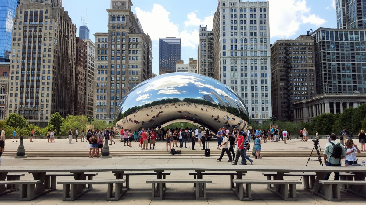 "Chicago - Cloud Gate / ""The Bean"""