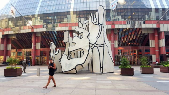 Chicago - Dubuffet: Monument with Standing Beast