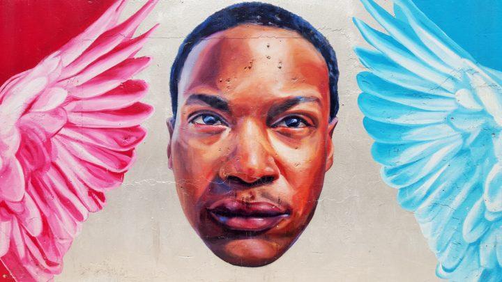 Chicago - Mural am Oak Street Beach