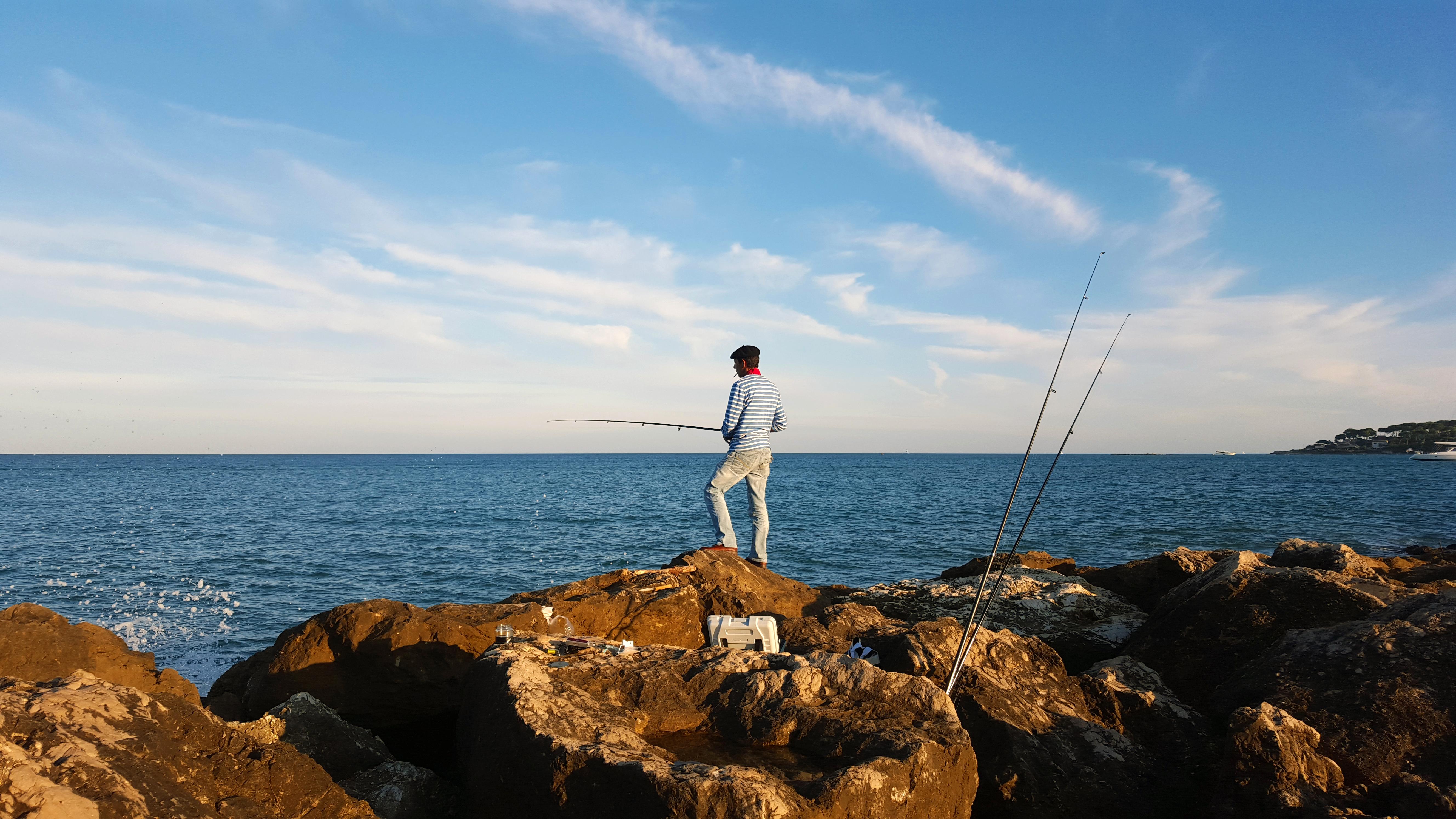 Angler, Antibes
