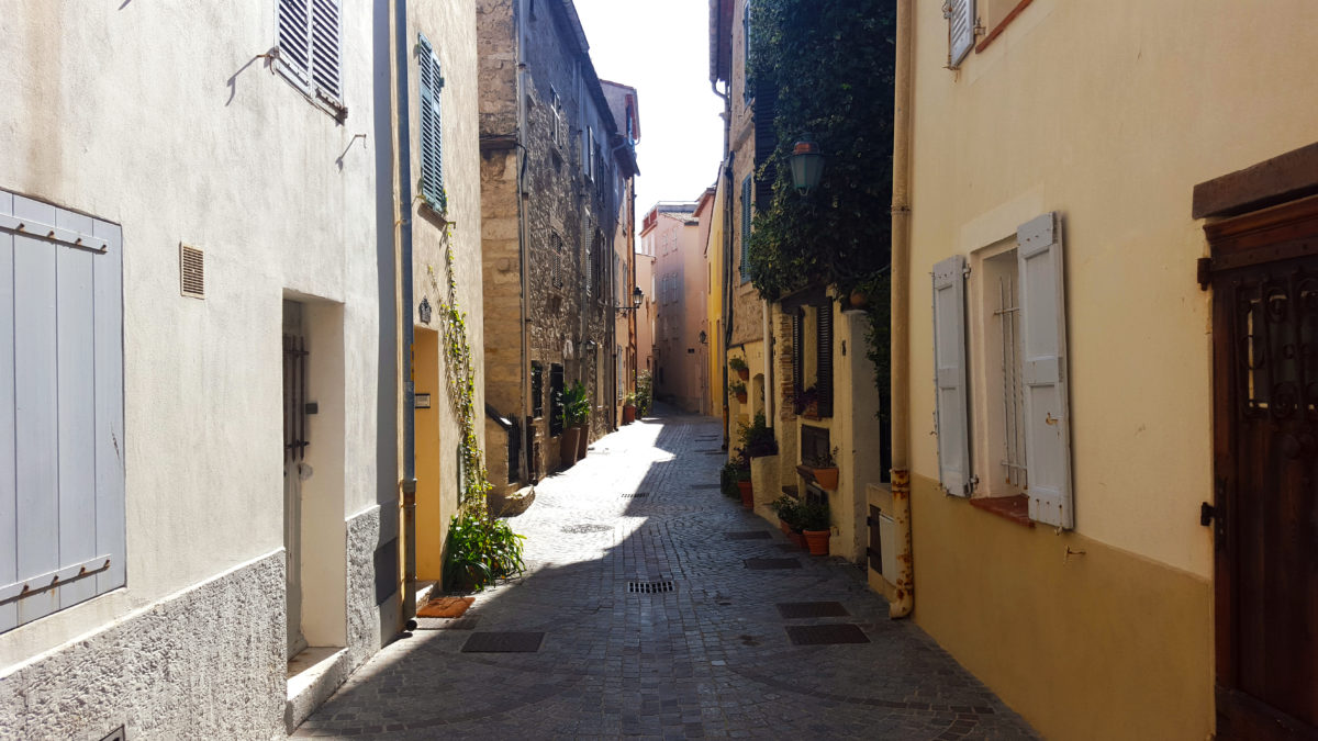 Ruelle in Antibes