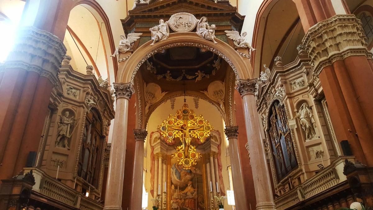 Hochaltar in der Basilika San Petronio