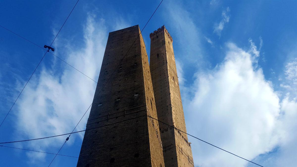 Torre Asinelli und Torre Garisenda