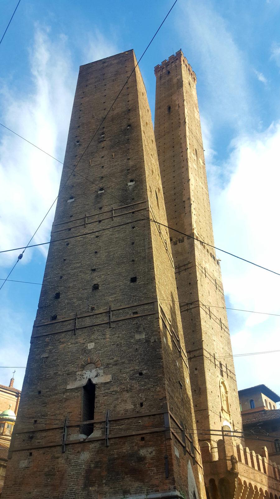 Torre Garisenda und Torre Asinelli