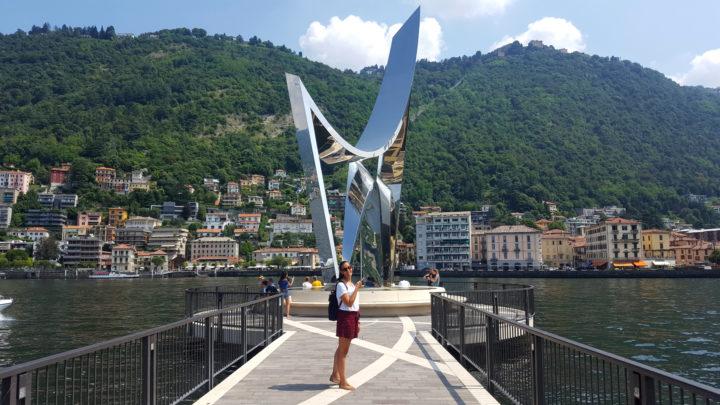 Libeskind-Skulptur in Como