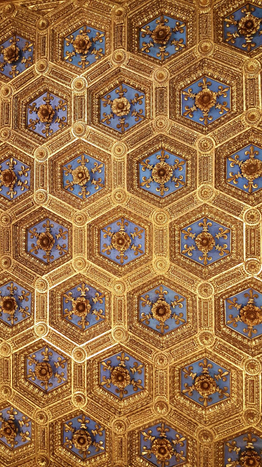 Deckenschmuck des Palazzo Vecchio