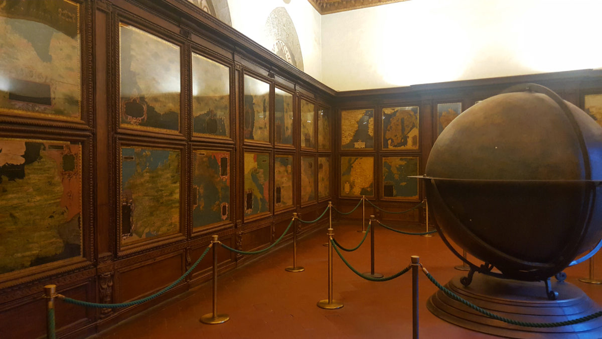 Kartenraum im Palazzo Vecchio
