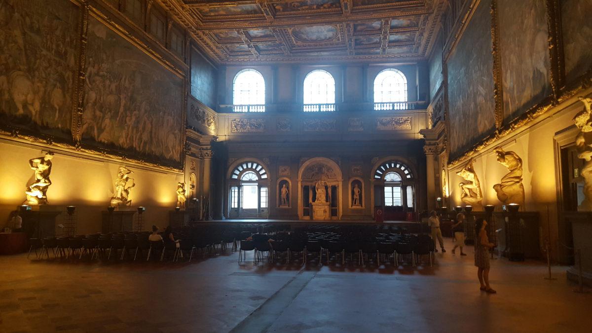 Saal der Fünfhunder im Palazzo Vecchio