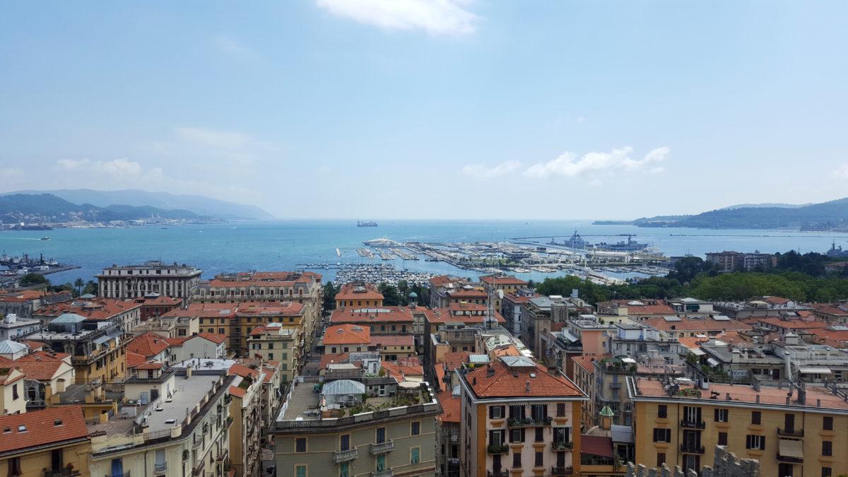 La Spezias Hafen