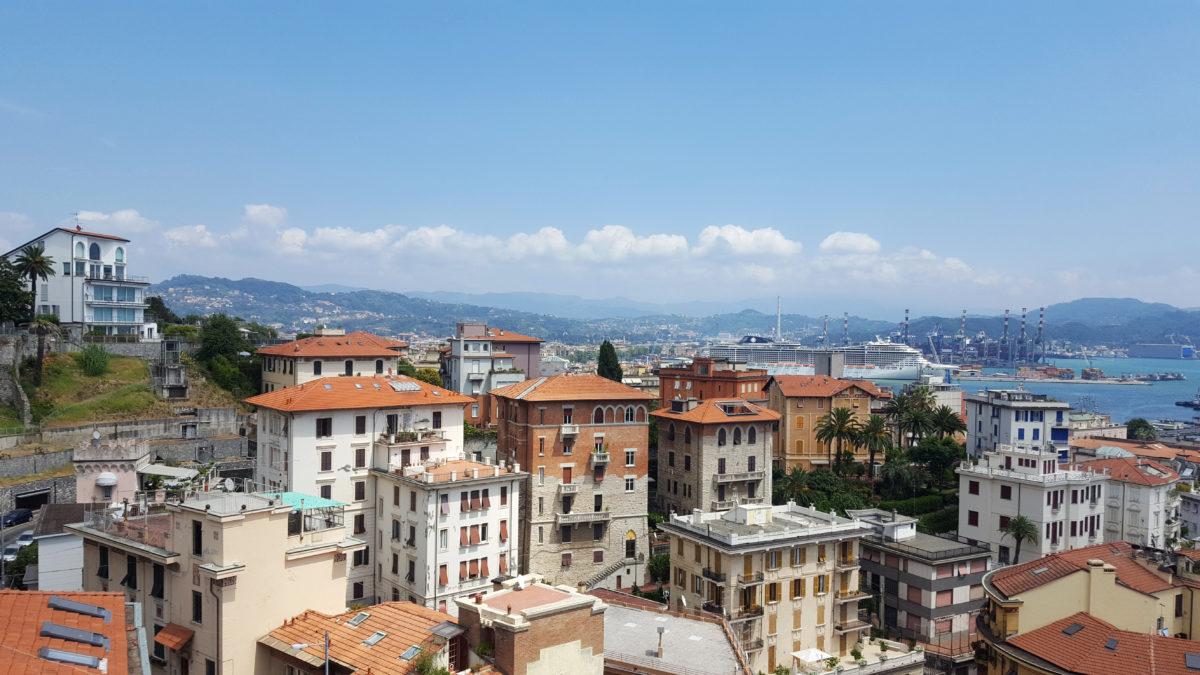 Der Hafen von La Spezia