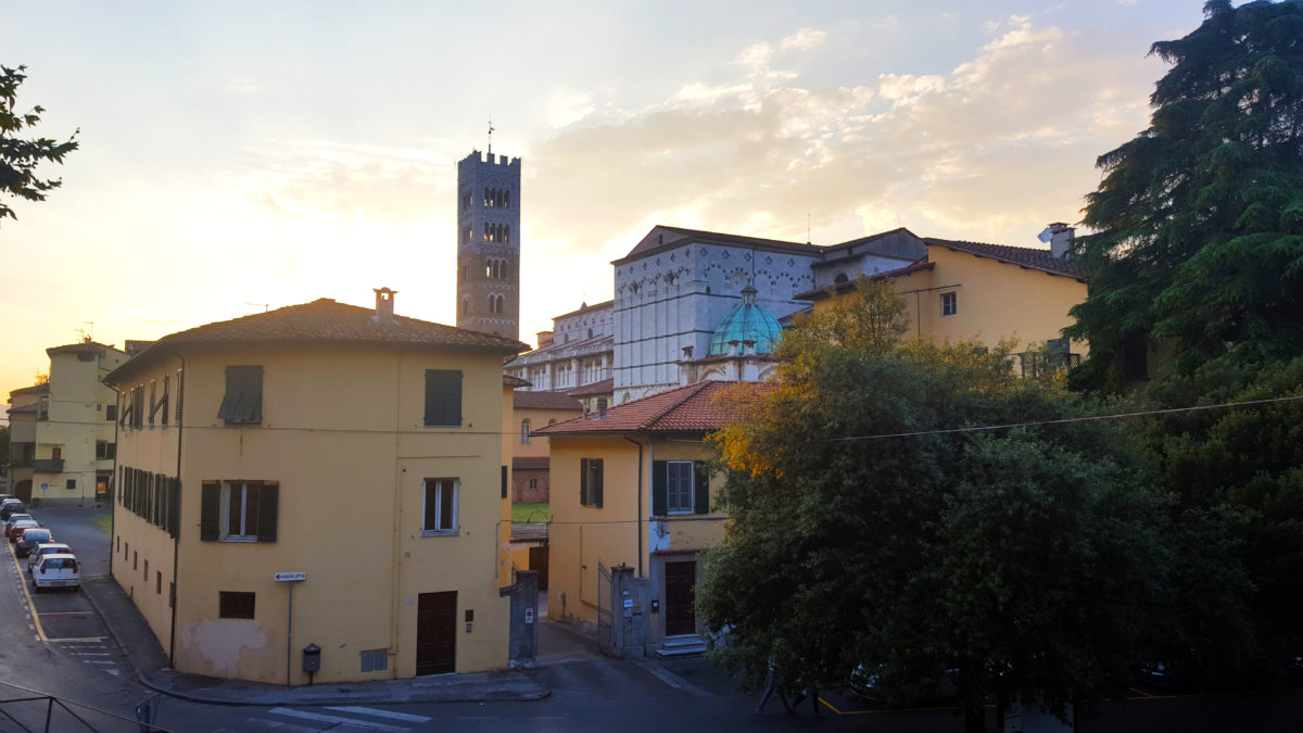Einer der unzähligen Türme Luccas