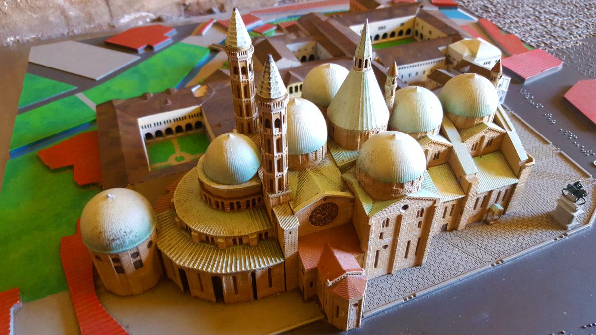 Modell der Basilika des Heiligen Antonius