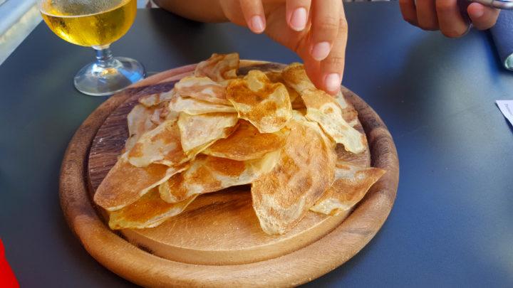 Handgefertigte Chips (mjam!)