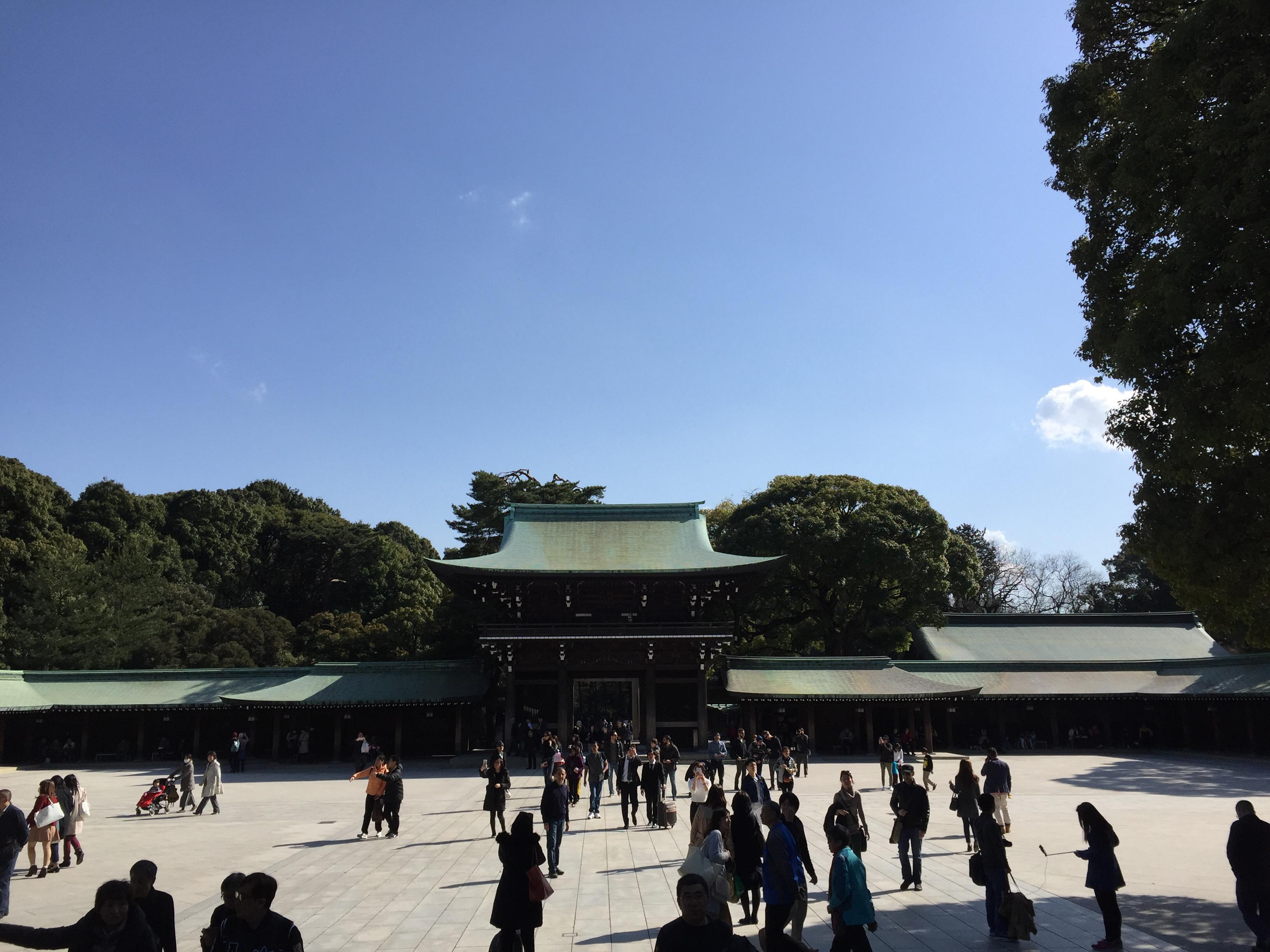 Meiji Schrein in Tokyo