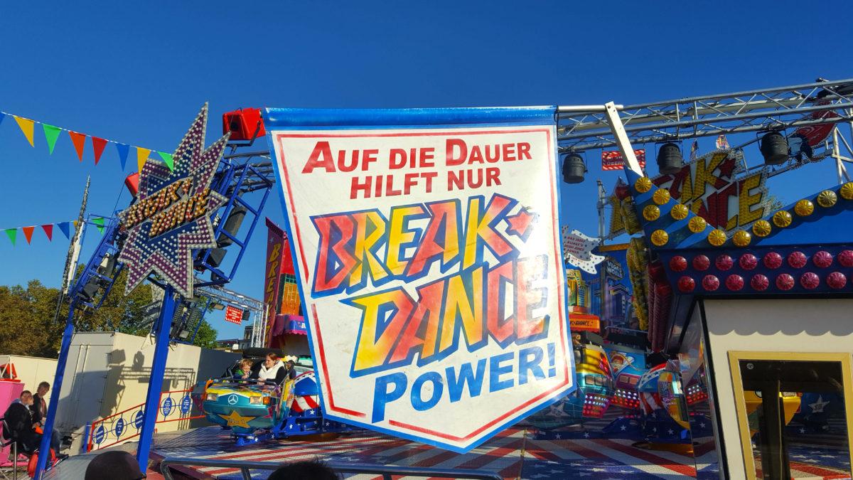 """""""Auf die Dauer hilft nur Break Dance Power!"""""""