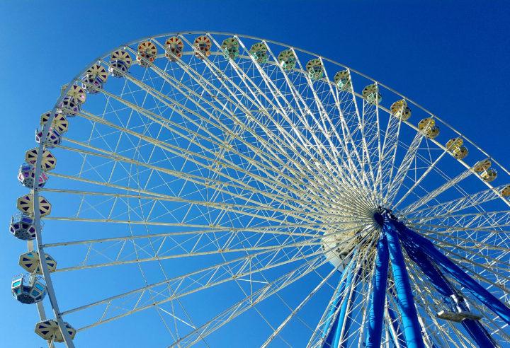 Das Riesenrad der Deutzer Kirmes 2016