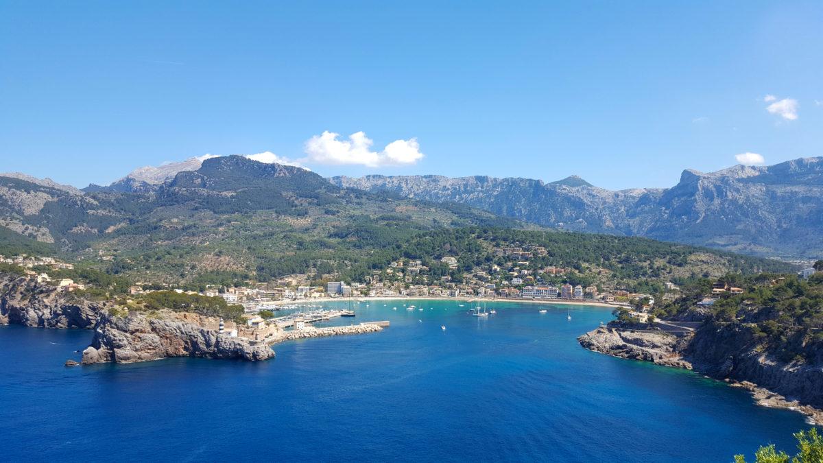 Wunderschöner Ausblick auf Port de Sóller