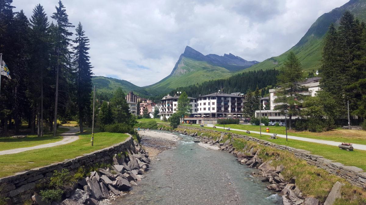 San Bernardino, Graubünden, Schweiz