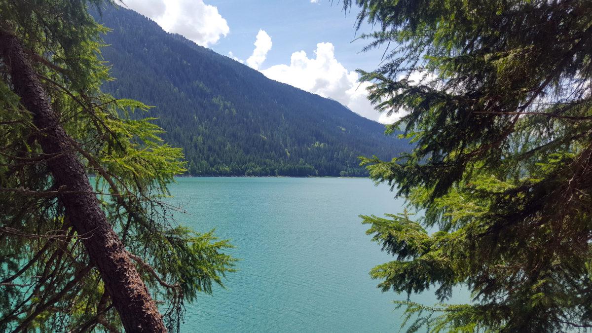 Sufnersee im Kanton Graubünden, Schweiz