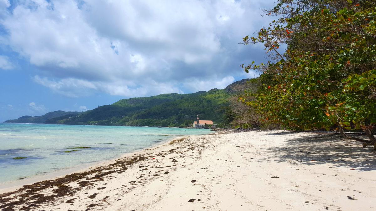 Am Strand von Anse Royale