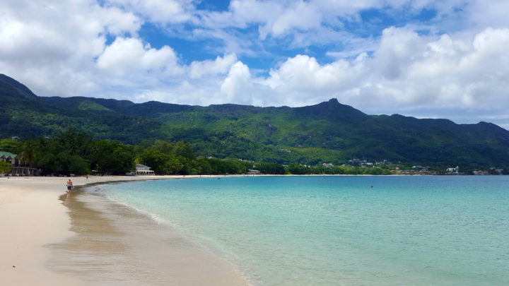 Am Beau Vallon Beach